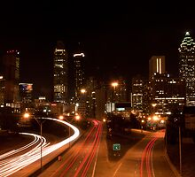 Atlanta Nightscape by J. Day