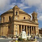 Mosta Church - Mosta Malta Island by mikequigley