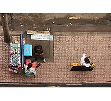 Street Vendors of Saigon Photographic Print