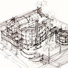 House sketch by terezadelpilar~ art & architecture