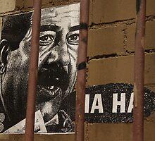 Ha Ha in Hosier Lane, Melbourne, Australia by wolfmarx