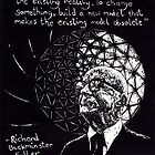 """Richard Buckminster Fuller"" by Donna Raymond"