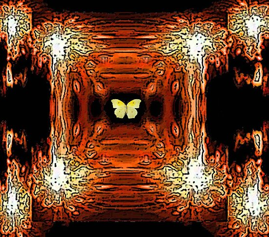 My In A Gadda Da Vida Butterfly (Band, Iron Butterfly) by Deborah Lazarus