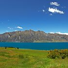 Lake Hawea View New Zealand by 104paul