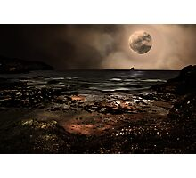 S is for.....Supermoon Photographic Print