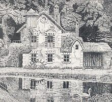 Versailles Mill Cottage by George Yesthal