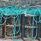 Lobster pots by Karin  Funke