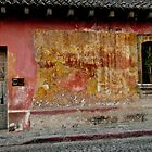 Colorful Wall - Antigua, Guatemala by Rhonda Dubin