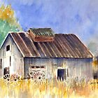 Old Barn by arline wagner