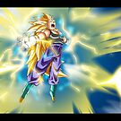 SSj3 Vegeta - True Final Flash by Tom Skender