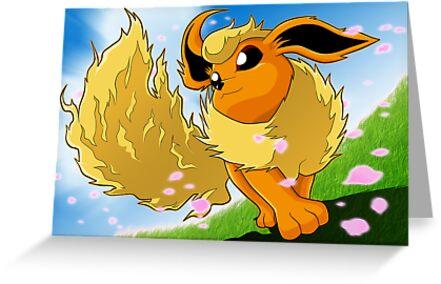 Pokemon - Flareon by Tom Skender