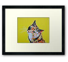 Flame (AKA Farty Moo) Framed Print
