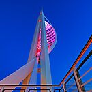 Portsmouth Blue Hour - Spinnaker Tower by DavidGutierrez