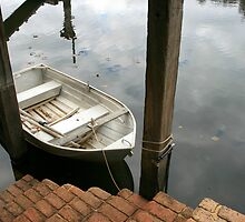A Step Down Onto a Dinghy by shazart