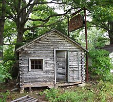Route 66 - John's Modern Cabins by Frank Romeo