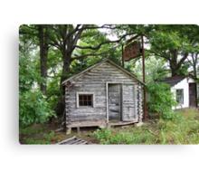 Route 66 - John's Modern Cabins Canvas Print