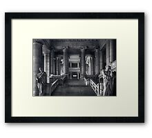 Straight Justice in Brussels Framed Print
