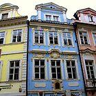Prague - Facades by Jean-Luc Rollier