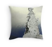 """A Blast of Winter"" Throw Pillow"