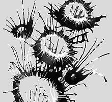 Indelible Ink series by Aleksandra Kabakova