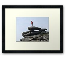 One Small Step for Man.................... Framed Print