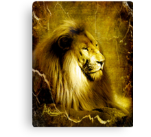 His Majesty Canvas Print