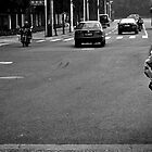 A man, his bike and his tube by Ruben D. Mascaro
