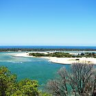 Deserted island at Lakes Entrance by stormypeace
