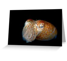 Underwater Alien Greeting Card