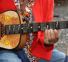 slide guitar by Trish Threlfall