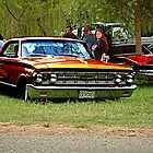 Red Ford Mercury by Ray Woledge