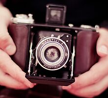 Vintage camera by Zoe Power