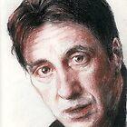 Portrait of Al Pacino by Michelle Gilmore