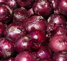 Red Onions by Gary Chapple