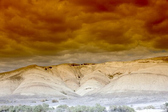 Death Valley Storm by Dawn Parker
