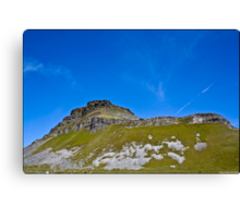 Pen-Y-Ghent, Horton In Ribblesdale, Yorkshire Dales, UK. Canvas Print