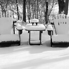 SNOW CHAIRS by Kathilee