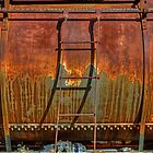 Rusted Rail Tanker (Perris, California) by Brendon Perkins