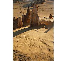 Sand Ripples Photographic Print