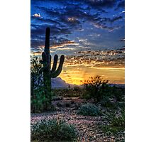 Sonoran Sunrise  Photographic Print