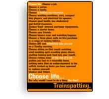 Choose Life.  Canvas Print