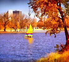Autumn Sail by Linda Miller Gesualdo