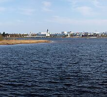 Ocean view of Oulu, Finland by Nnebr