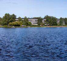 Oulu river by Nnebr