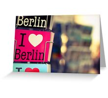 Streets of Berlin #4 Greeting Card