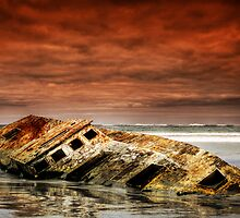 Ship Wrecked by Darryl Leach