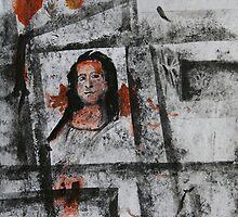 Mr. Mona in the Window by Peter Baglia