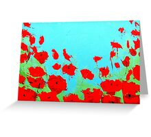 Poppy Love Greeting Card