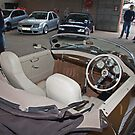 Inside of the Porsche 356. by Fred Taylor
