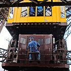 Eiffel Tower Lift Operator by Pierre Frigon